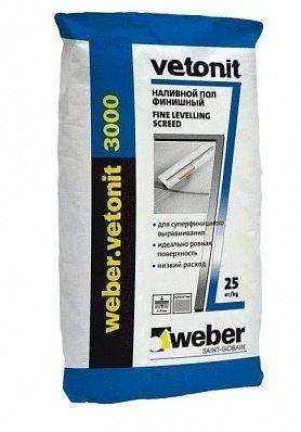 Weber Vetonit 3000 инструкция - фото 3