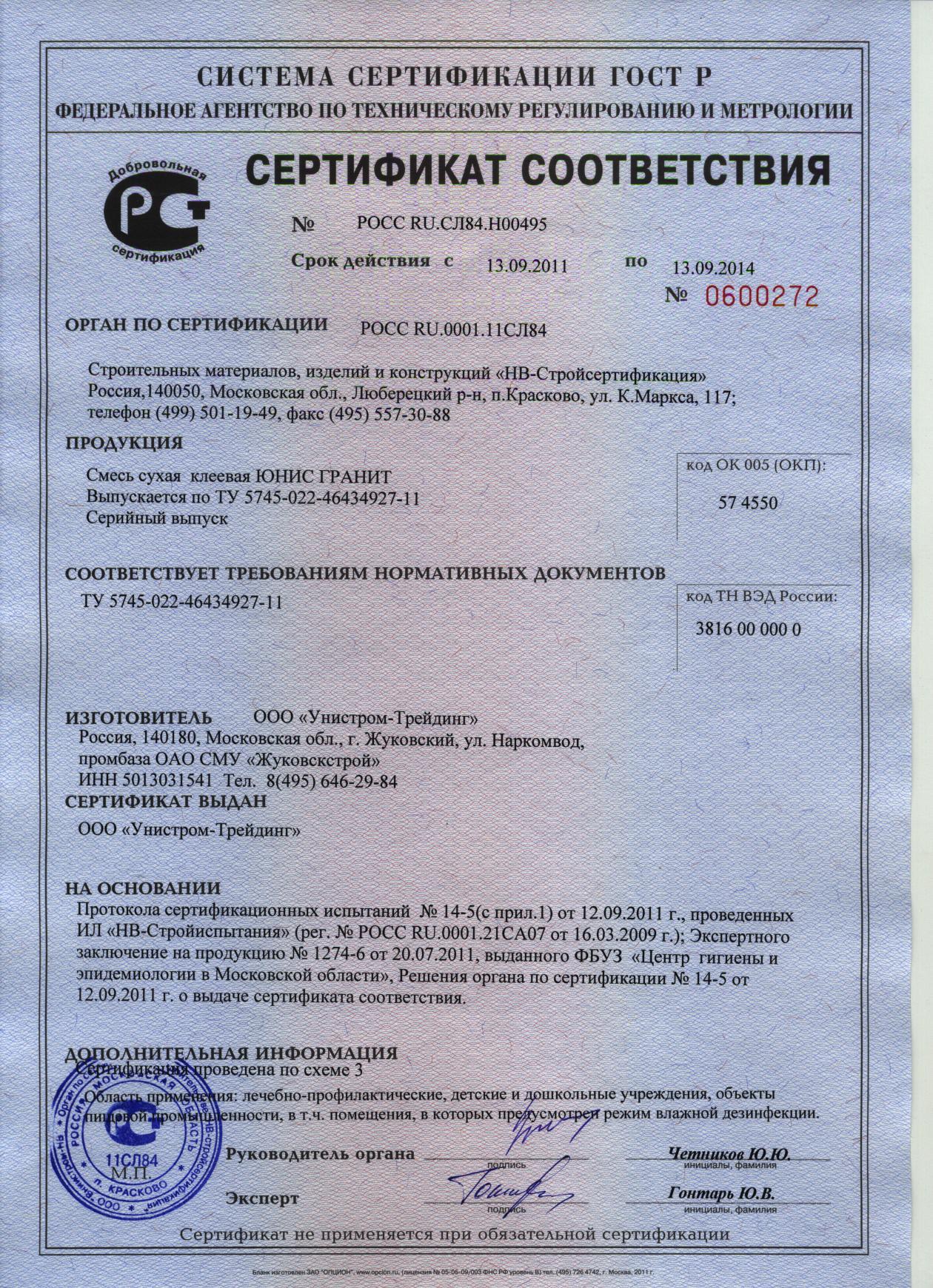 сертификация травматического оружия в москве